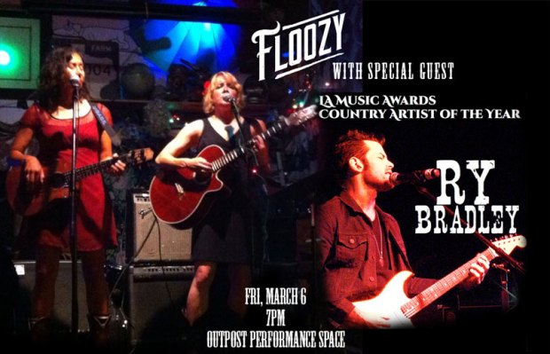 Floozy and Ry Bradley at the Outpost Performance Space
